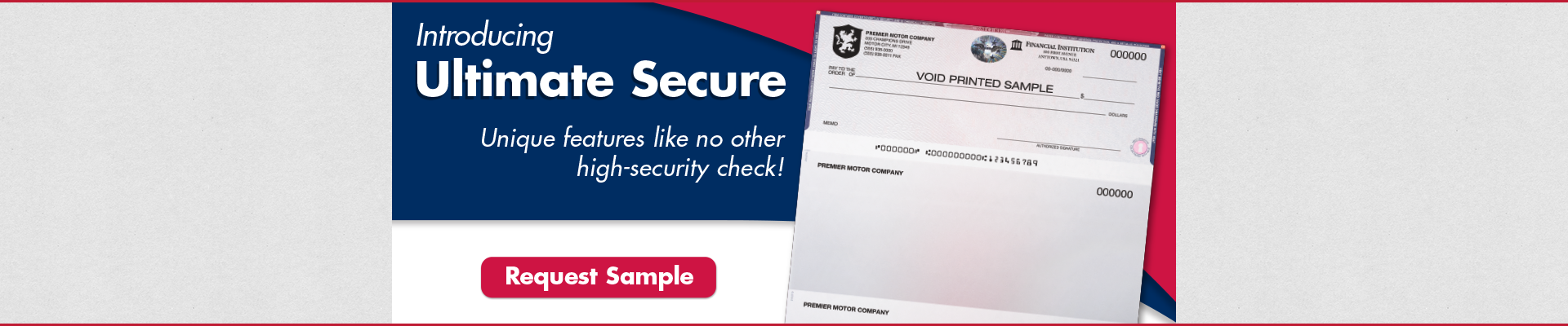 Introducing Ultimate Secure Checks